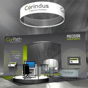 Corindus Trade Show Kiosk