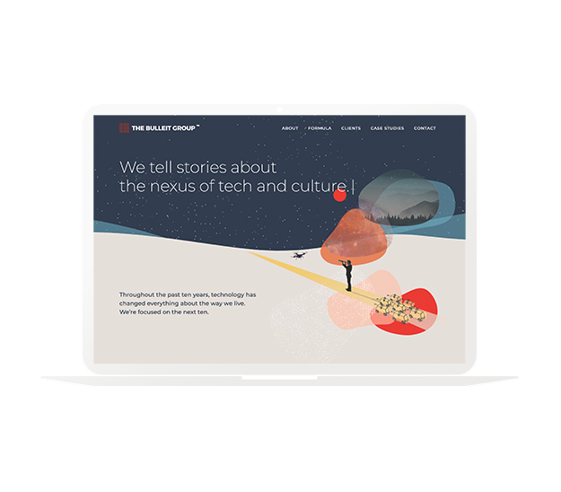 The Bulleit Group website design