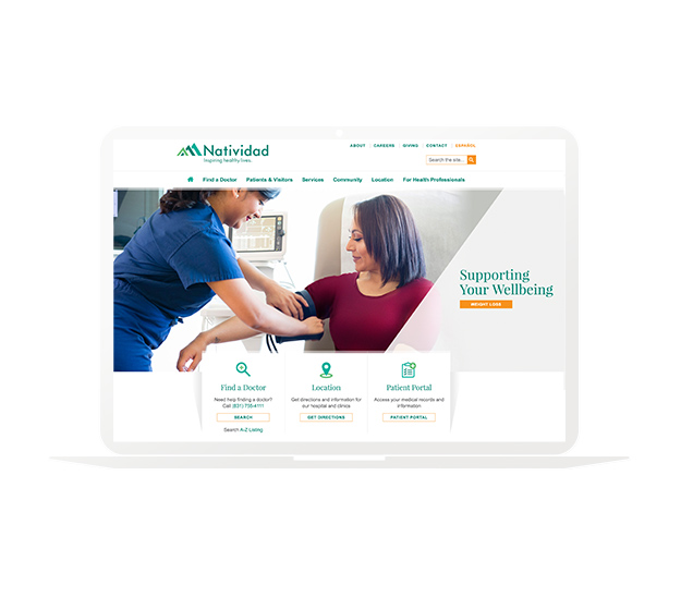 Natividad website design