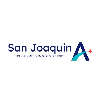 San Joaquin A+ Logo