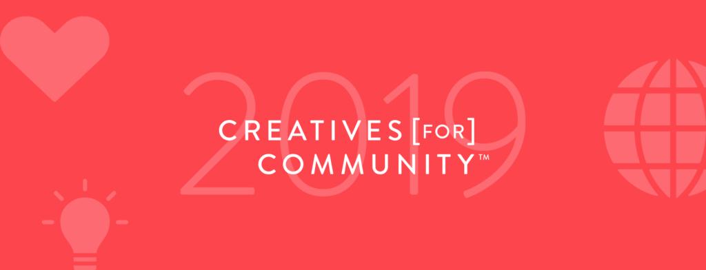 Creatives for Community 2019 Header