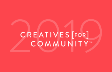 Creatives for Community 2019 Header