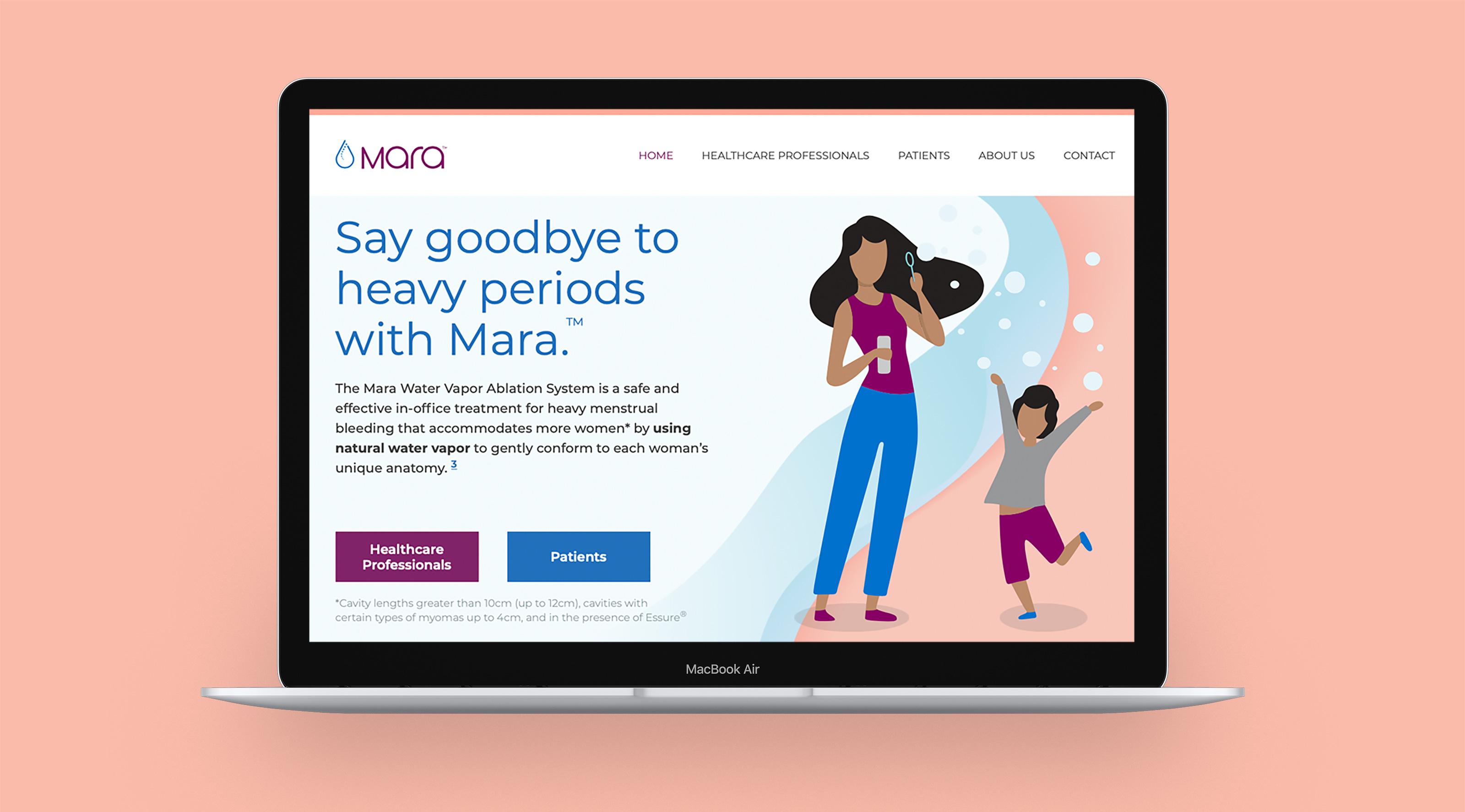 Mara Website Design