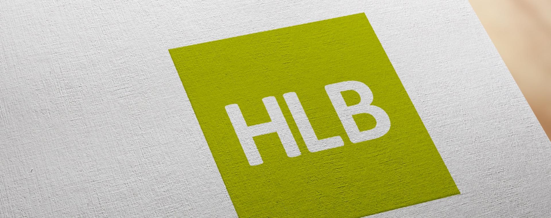 HLB Logo on paper
