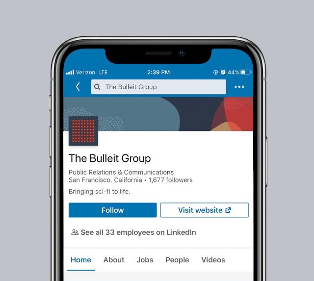 Bulleit Group LinkedIn Profile