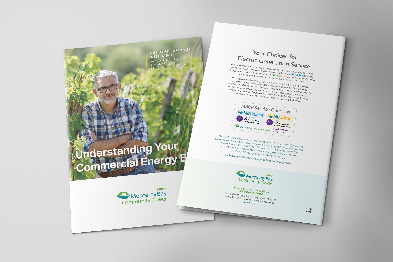 Monterey Bay Community Power Brochure Design