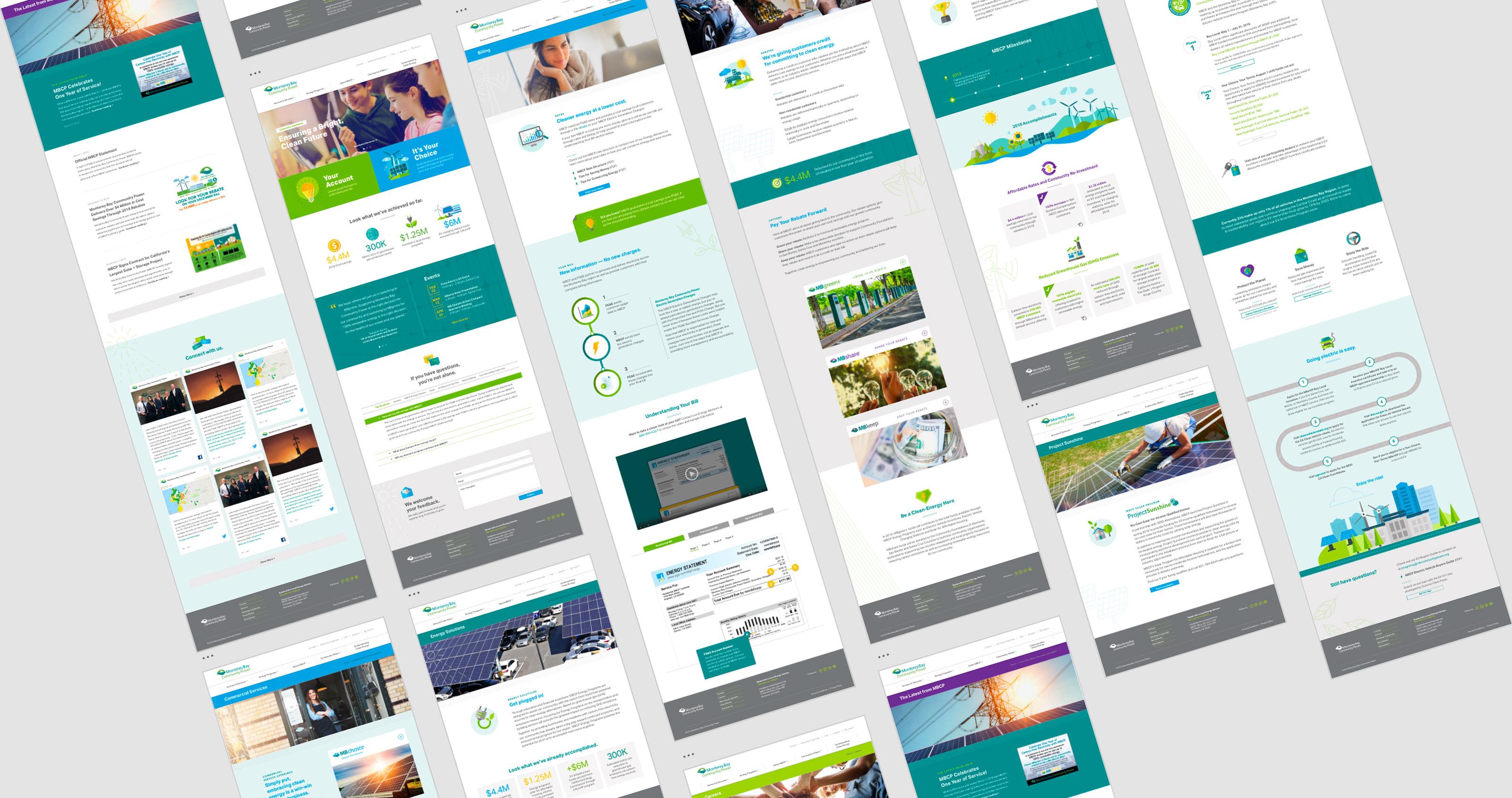 Monterey Bay Community Power Website Design