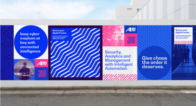Pattern Recognition Brand Wall