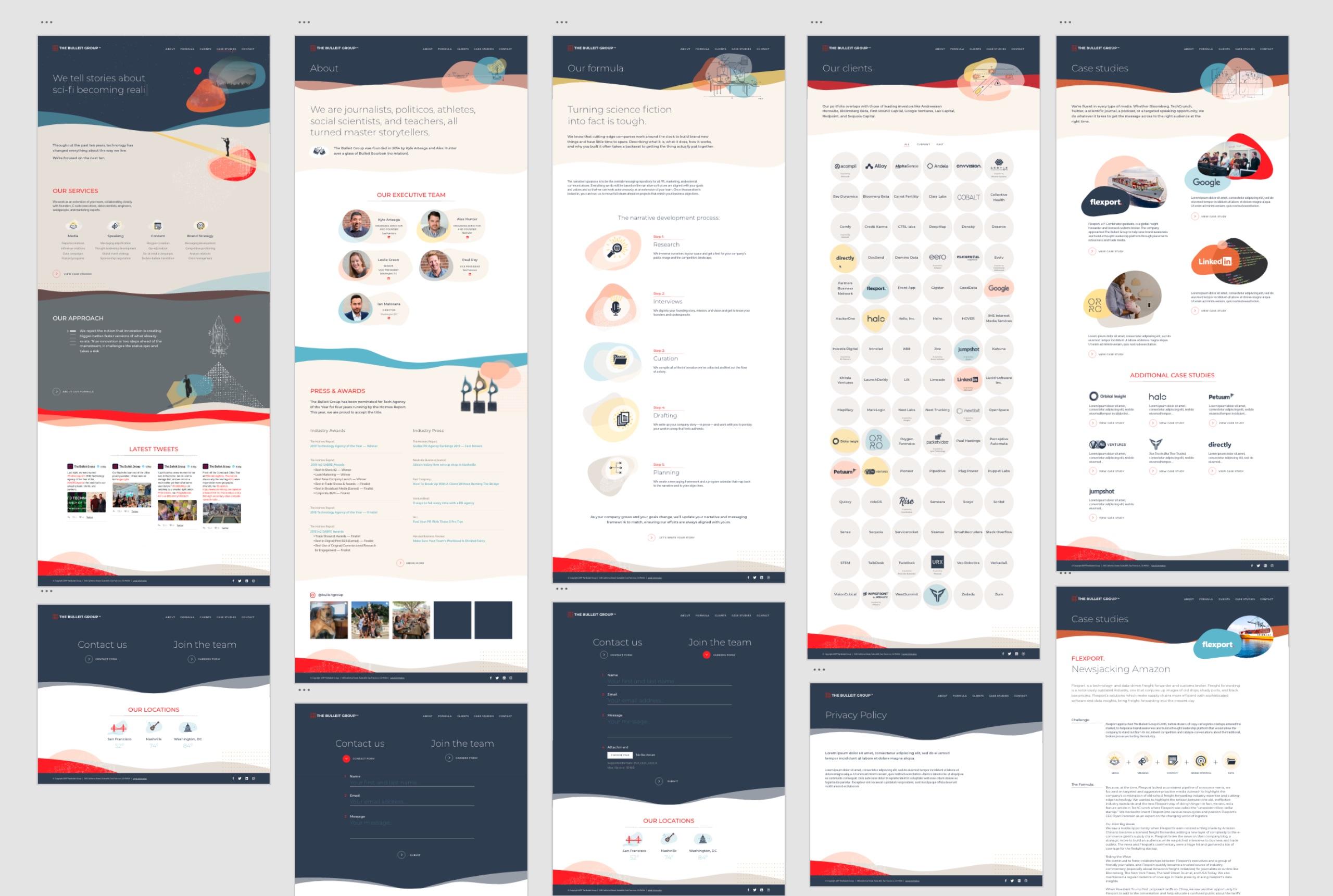 Bulleit-Group-Website-Screens