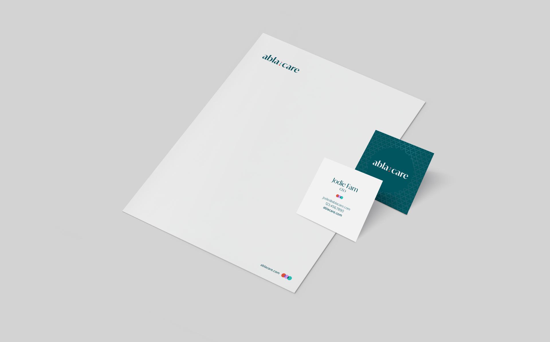 Ablacare Stationery Design