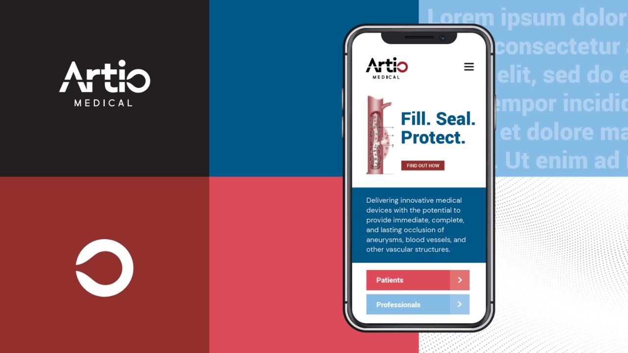 Artio Medical Branding Elements