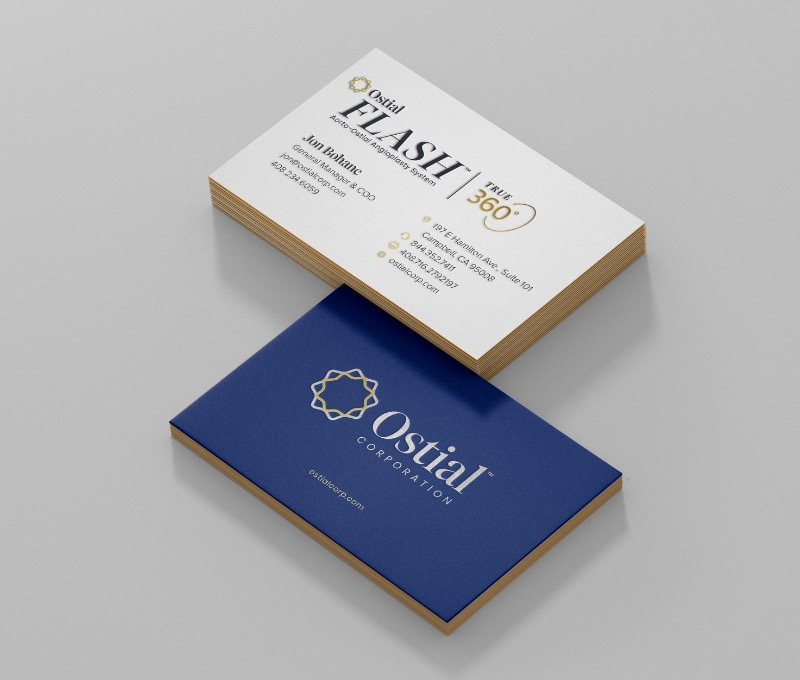 Ostial Corporation - Business Card Design