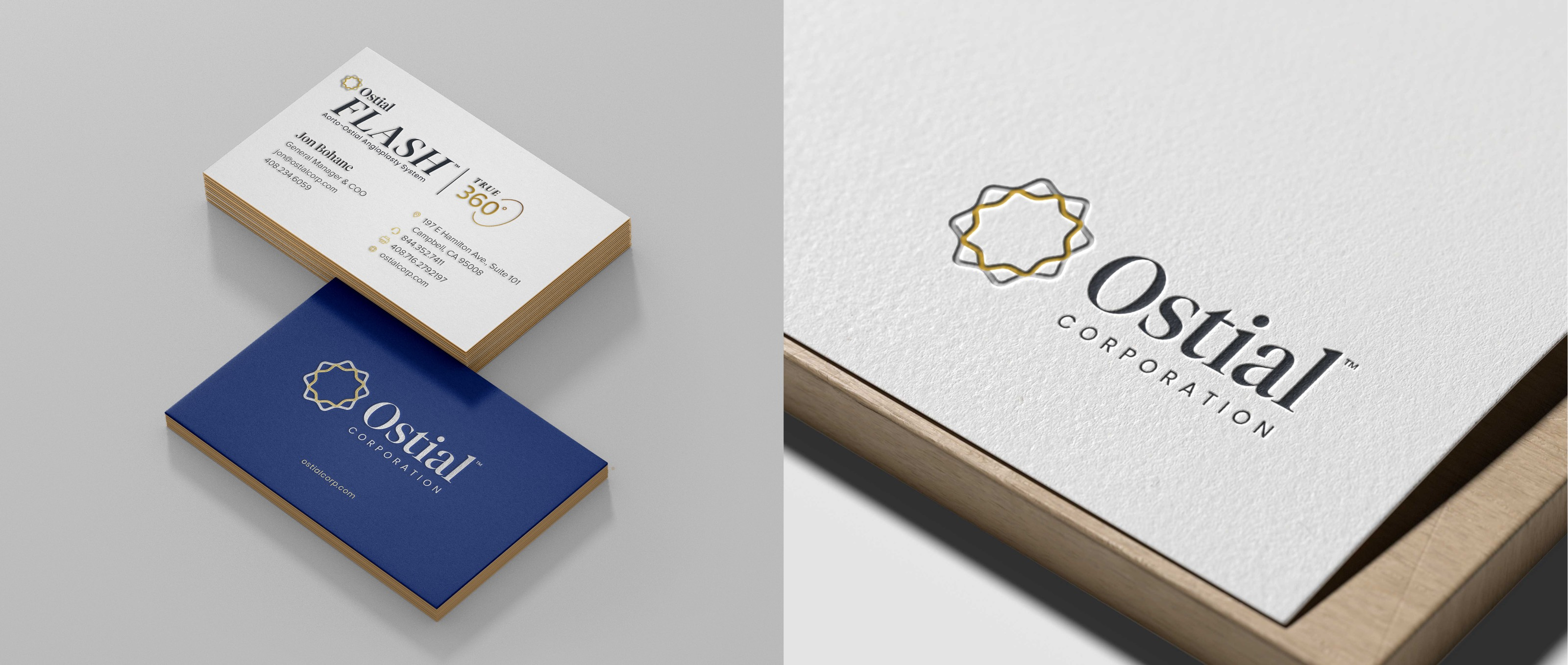 Ostial Business Cards