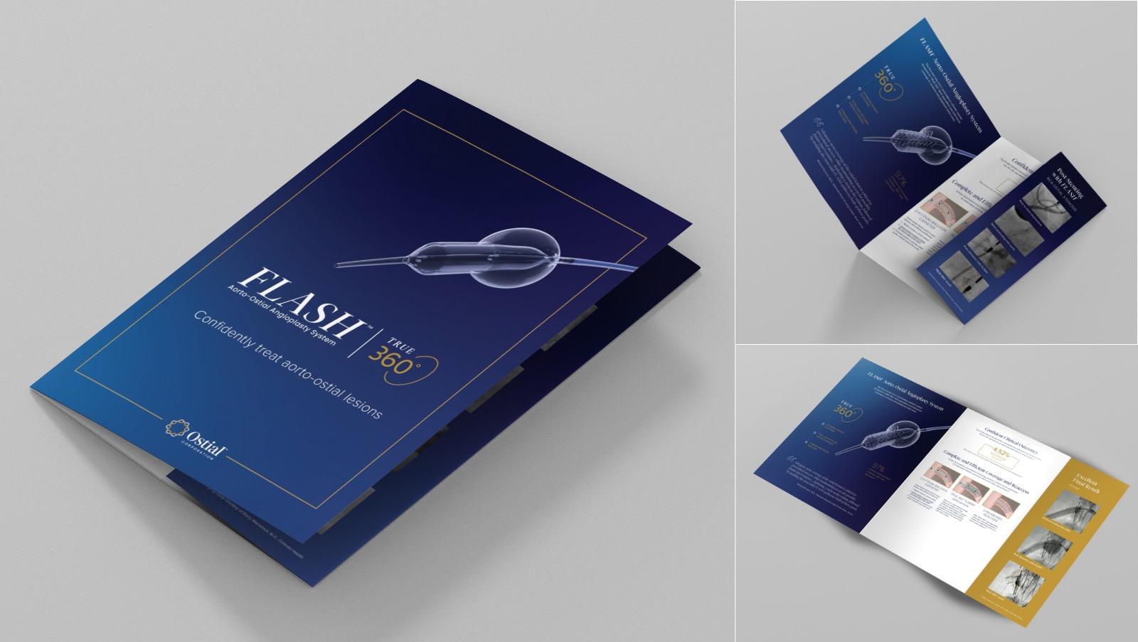 Ostial Corporation - Flash 360 Brochure Design