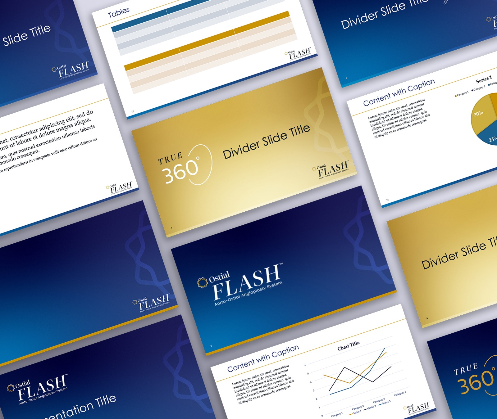 Ostial Medical Power Point Design