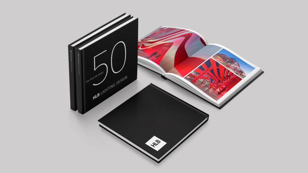 HLB Lighting 50 Year Anniversary Books