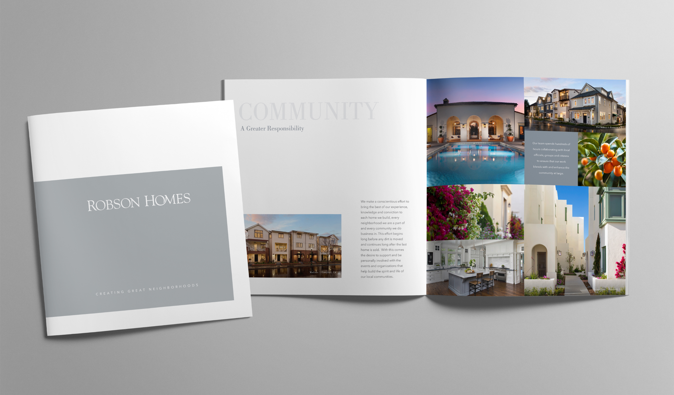 Robson Homes corporate brochure