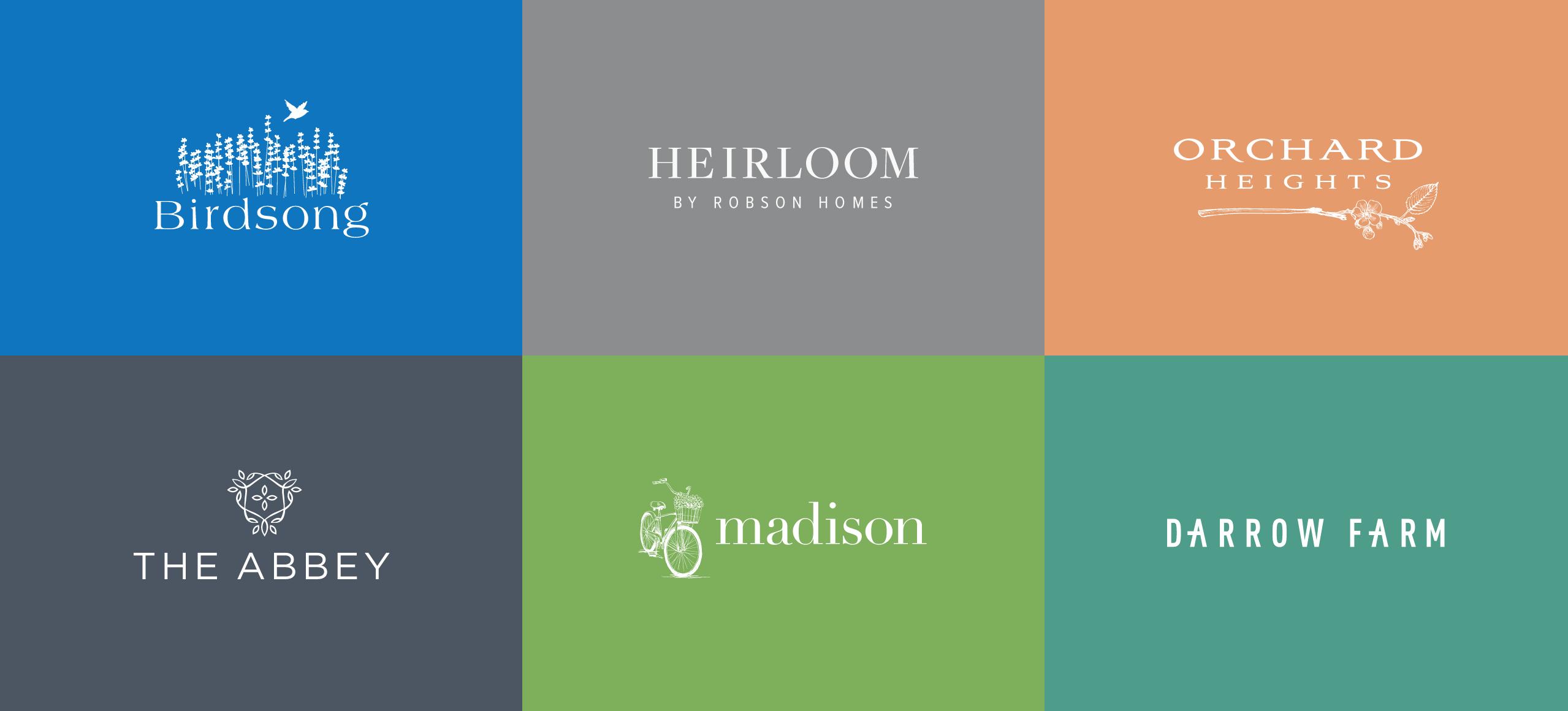 Robson Homes logos