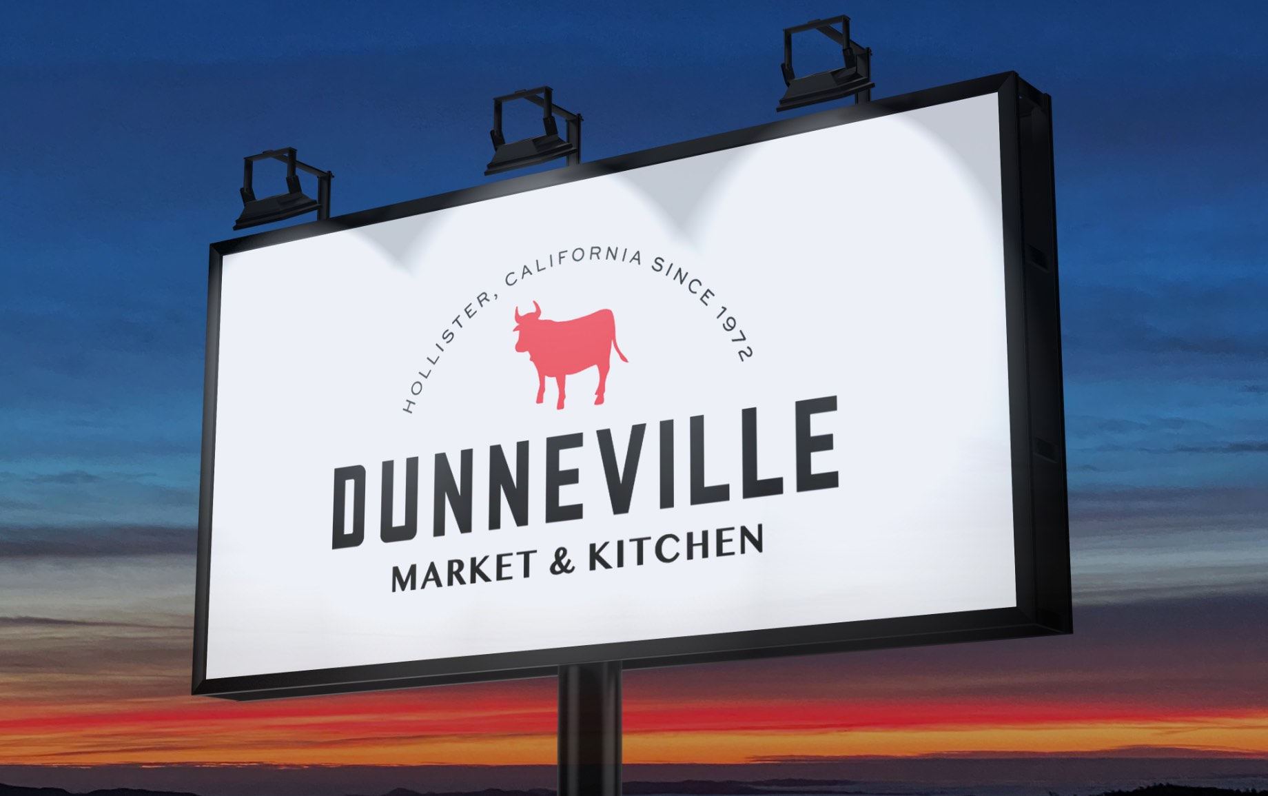 Dunneville Market and Pantry Billboard