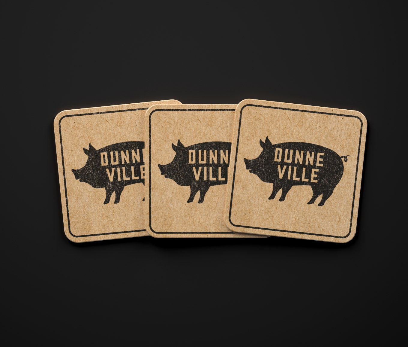 Dunneville Market and Pantry Coasters