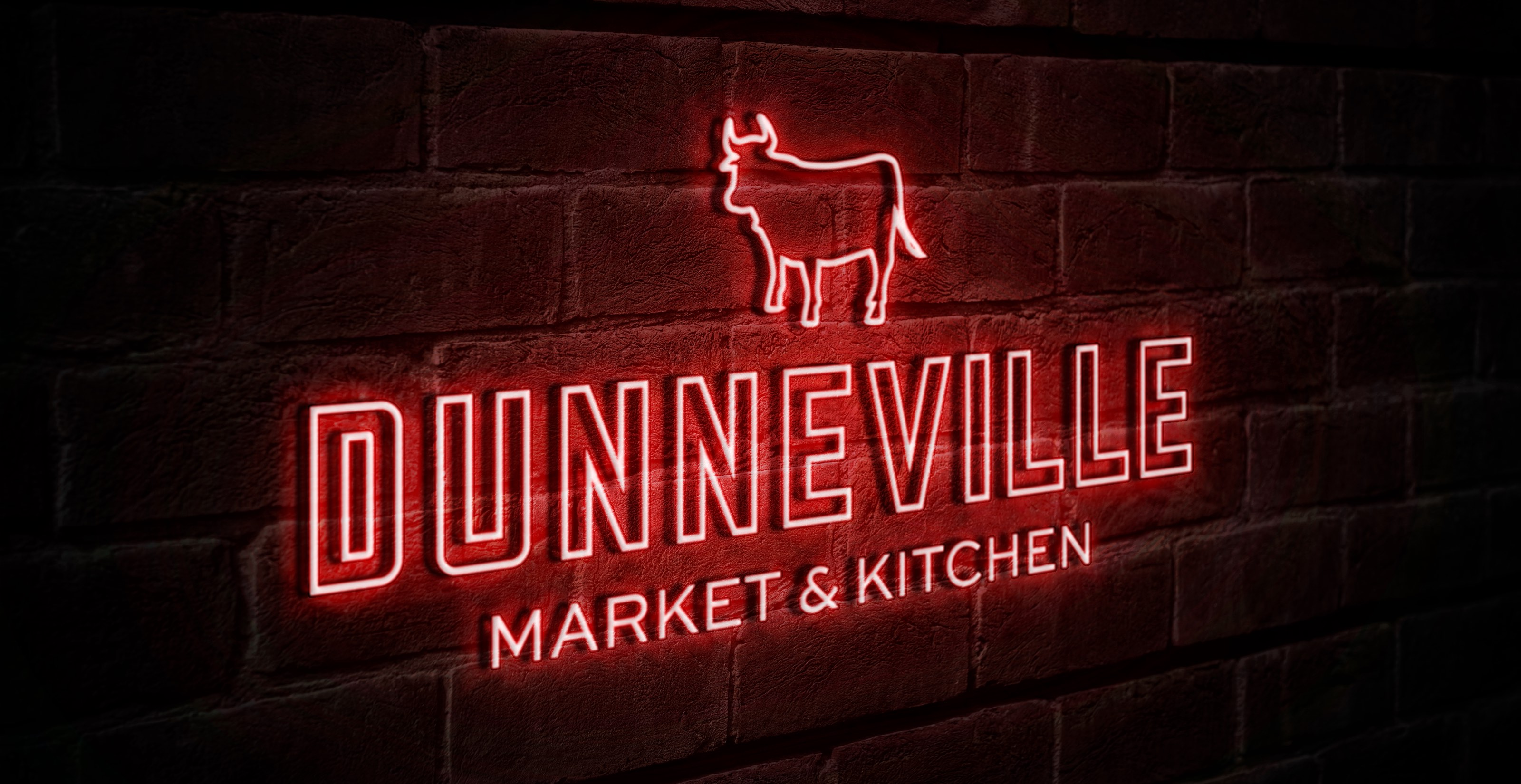 Dunneville Market and Pantry Neon Sign