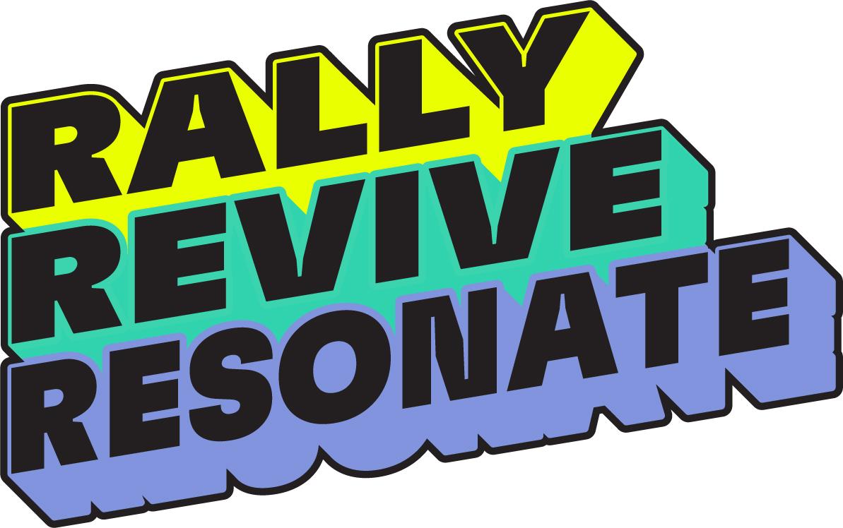 RALLY REVIVE RESONATE PIN