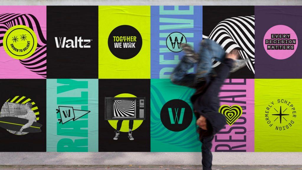 Waltz Creative Brand Wall