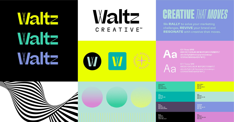 Waltz Creative Brand Board