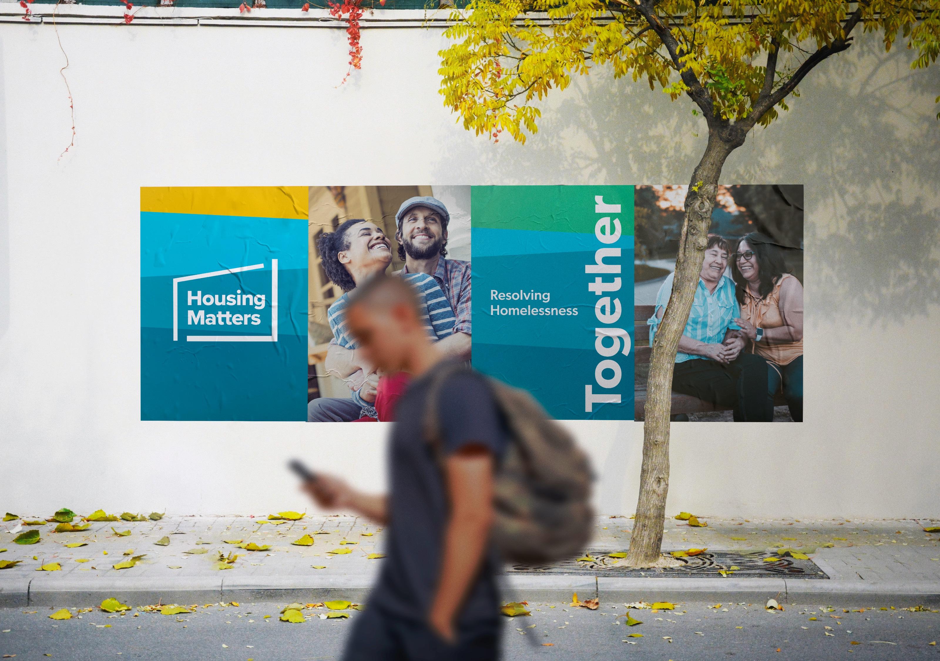 Housing Matters Brand Wall