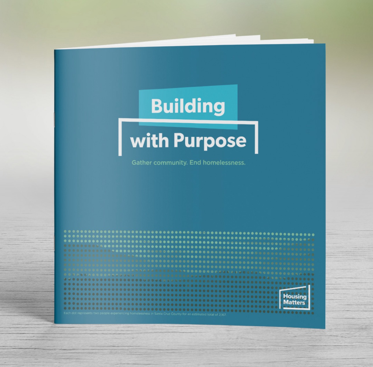 Housing Matters Nonprofit Brochure Design