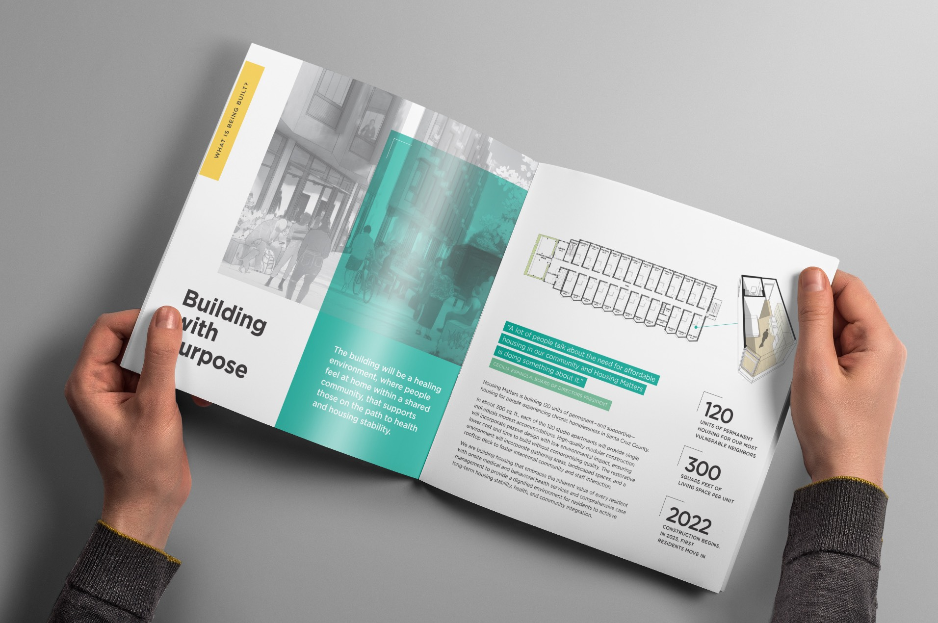 Housing Matters Building with Purpose Brochure