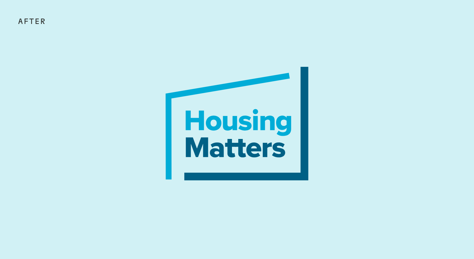 Housing Matters Logo Design - After