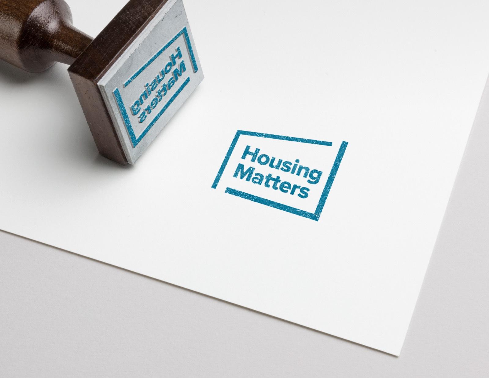 Housing Matters Stamp Logo