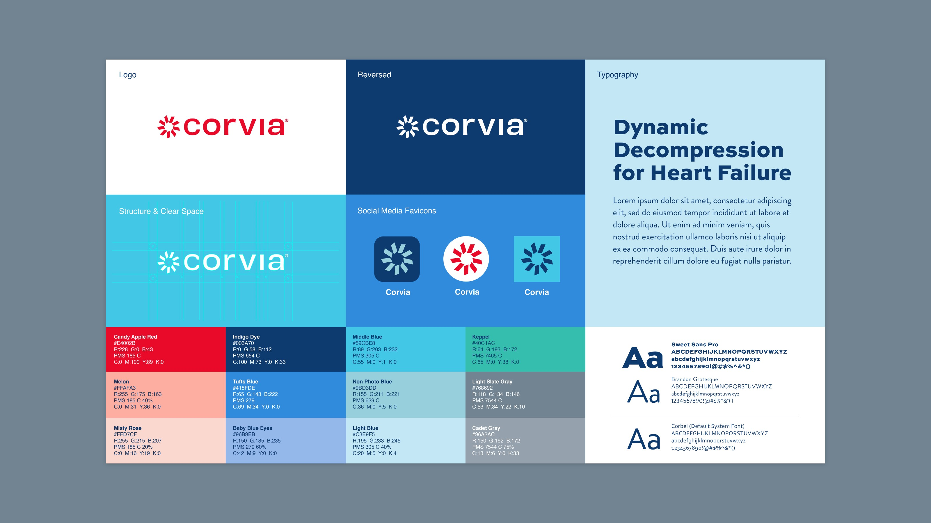 Corvia Medical Brand Guidelines