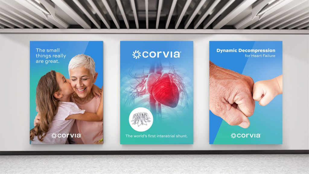 Corvia Medical Posters