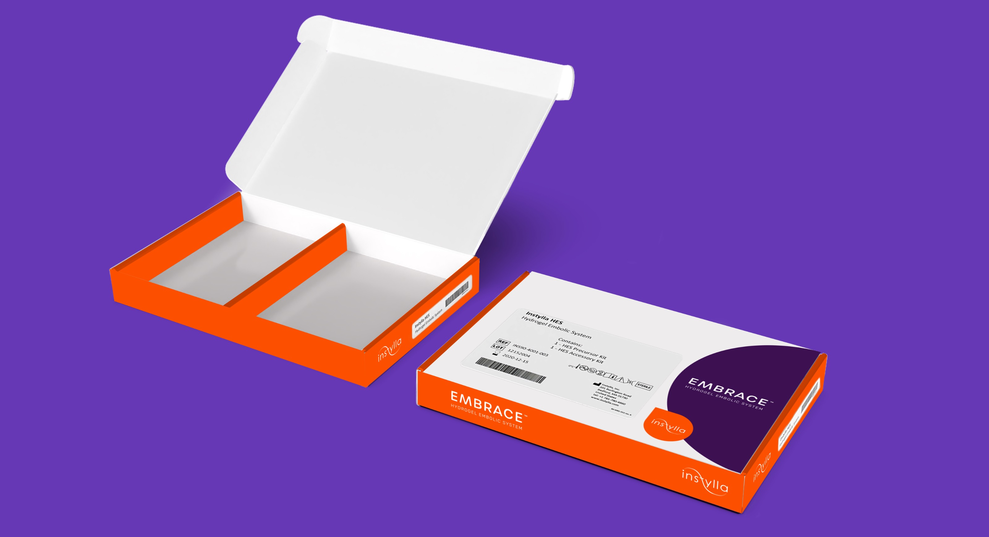 Instylla box design